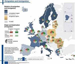 Emigration and immigration, 2007   Map Finder