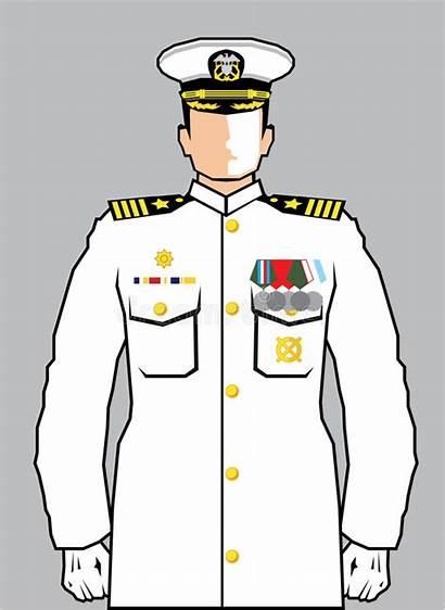 Navy Officer Illustration Clip Vector Eps