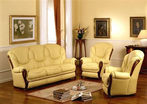 Classic Sofa Sets by Daniela Made In Italy Classic Sofa Set Classic Leather