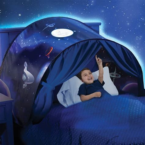 Dream Tents Kids Pop Up Bed Tent Playhouse With Reading