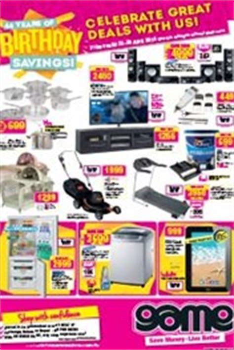 game weekly specials south africa apr