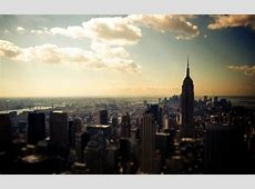 Beautiful landscape New York view from above
