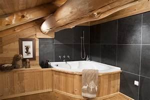 chalets nordika constructeur bois a bolquere pyrenees With salle de bain montagne