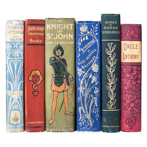 Decorative Victorian Style 6 Book Set  Juniper Books