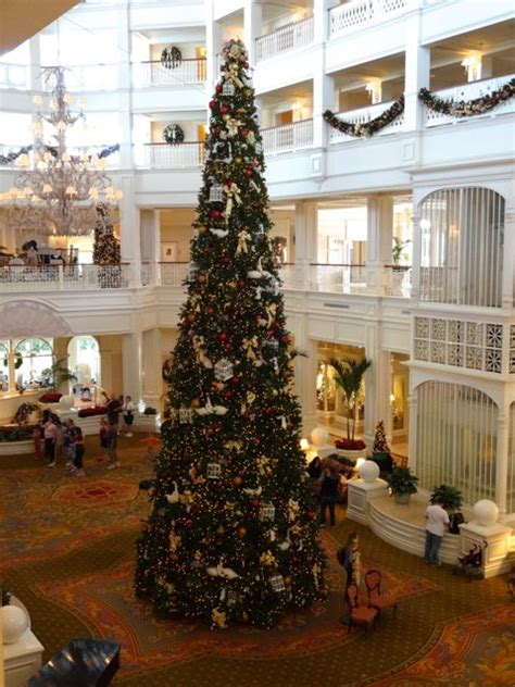 grand floridian christmas tree tree at the grand floridian in 2012 171 walt