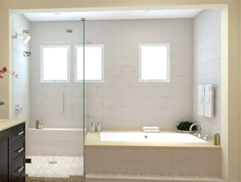 Tub And Shower Combo by Master Bath Tub Shower Combo Op 3 Master Bath Tub
