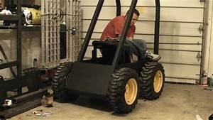 Homebuilt Electric Skid Steer Prototype