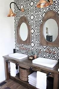 Modern Farmhouse Bathroom Remodel Reveal