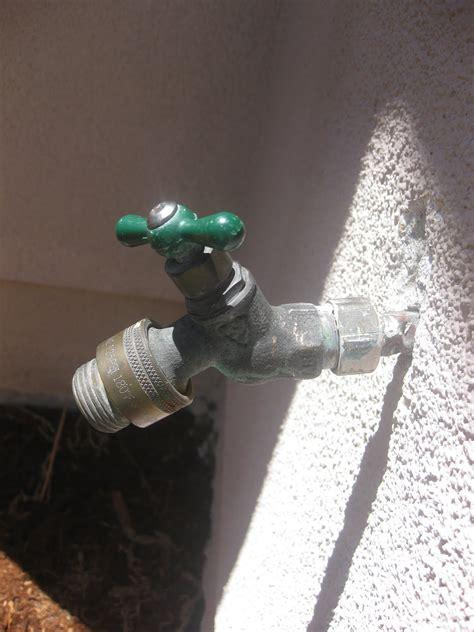 plumbing    fix  leaking outdoor faucet