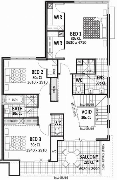 Plans Floor Story Storey Homes Wide Plan