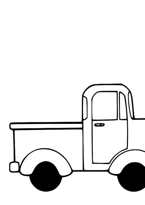 Pick Up Truck Clipart Top View | Clipart Panda - Free