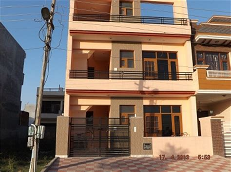 Home Design 80 Gaj : 3 Bhk Residential House For Sale In Mohali Sector-80