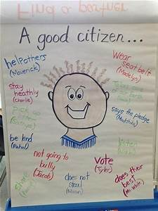 Classroom Rules Chart Images Good Citizen Citizenship Anchor Chart Social Studies