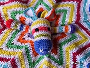 U0026quot  El Encanto Del Crochet  U0026quot   Manta Apego Bebe Jirafita