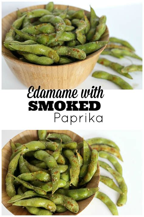 how to cook edamame edamame with smoked paprika