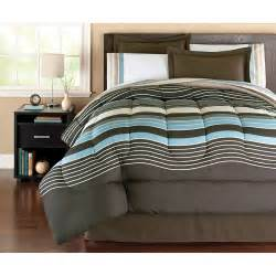 mainstays coordinated bedding set stripe walmart com
