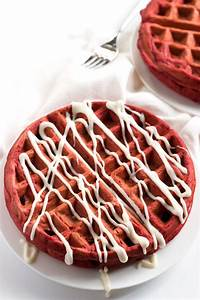 red velvet waffles and chicken recipe
