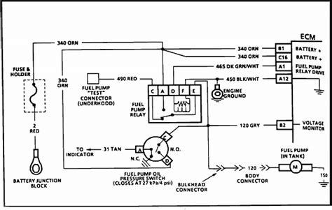 Gm Fuel Wiring Diagram by 1992 Chevy Camaro Rs Wont Start I Gasoline Cranks Fuel