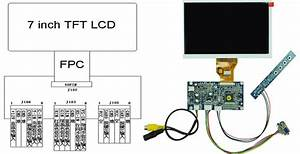7inch 800x480 Vga Video Lcd With Ad Board Cost