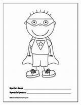 Skills Social Hero Zero Coloring Superhero Counseling Activities Math Template Program Grade Clip Kindergarten Games Super Children sketch template