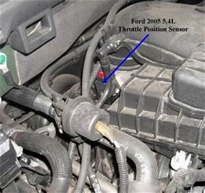2003 Ford Expedition Tps  Ware Is The Tps Located On This