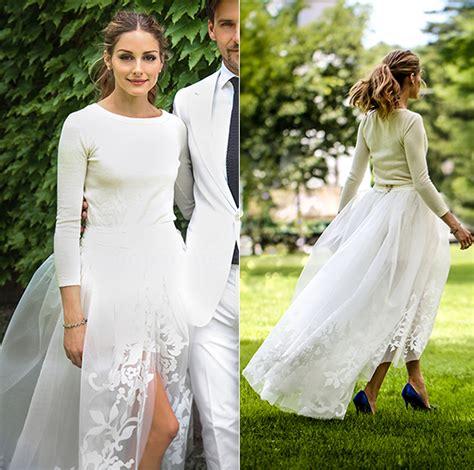 olivia palermo wedding dress copies