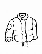 Winter Coloring Coat Raincoat Clothes Pages Drawing Line Clip Draw Clipart Jacket Rain Clothing Printable Coats Outfits Boots Cliparts Raincoats sketch template