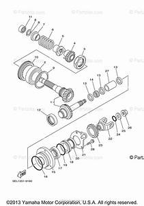 Yamaha Motorcycle 2006 Oem Parts Diagram For Middle Drive