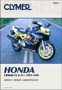 Honda Cbr600f2  Cbr600f3 Repair Manual 1991