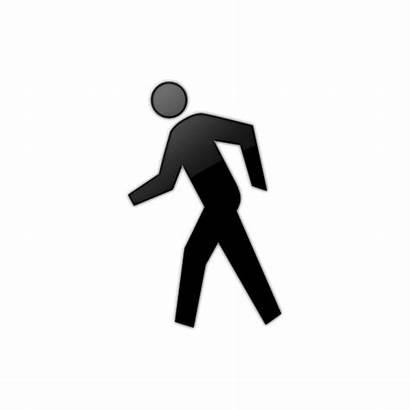 Walking Clipart Icon Person Clip Walk Human