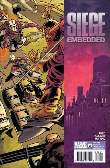 siege embedded siege embedded 2 b apr 2010 book by marvel