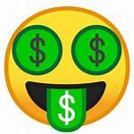 Icon Money Face Mouth Emoji Smileys Google