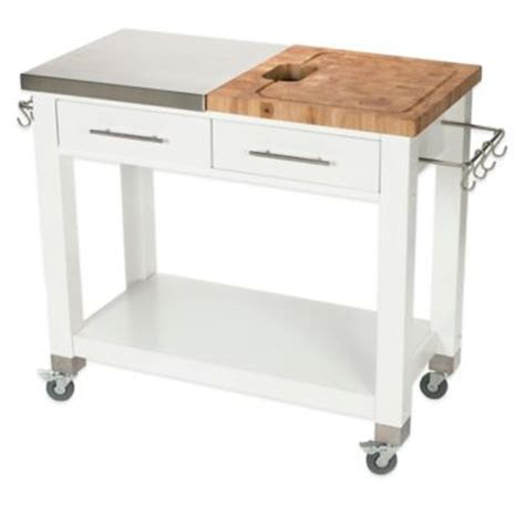 kitchen island carts on wheels buy kitchen carts on wheels from bed bath beyond 8158
