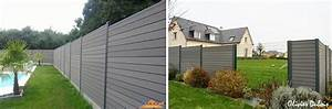 Idee Cloture Devant Maison : quelle couleur pour ma cl ture de jardin ~ Dailycaller-alerts.com Idées de Décoration