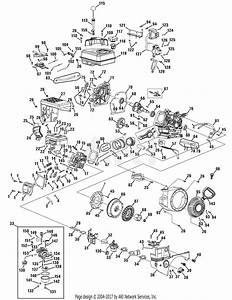 Mtd 31am2p5b704  2009  Parts Diagram For Engine Assembly