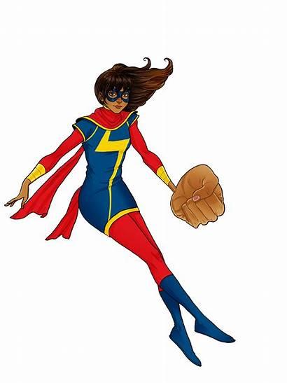 Marvel Clipart Captain Ms Transparent Superhero Comic