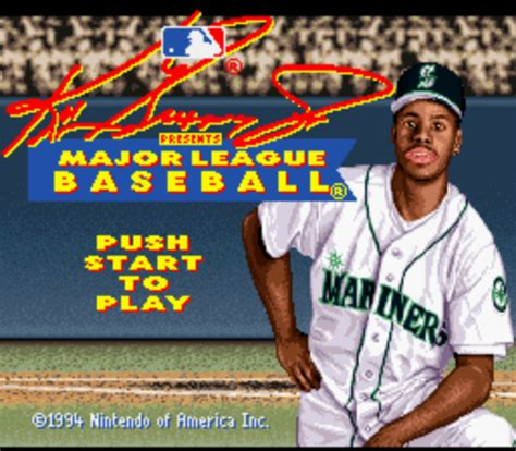 7f150767f1 Download the Major League Baseball Featuring Ken Griffey Jr. (Australia)  ROM for Nintendo 64N64. Filename: Major League Baseball featuring Ken  Griffey Jr. ...