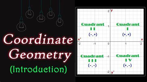 coordinate geometry introduction geometry math