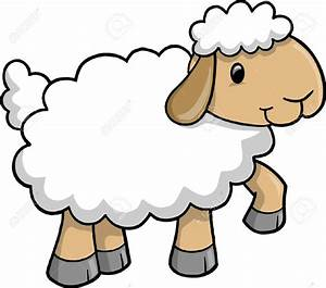 Sheep clipart cute - Pencil and in color sheep clipart cute