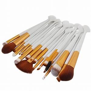 Foundation Powder Brush Shell Makeup Brushes Set Blending