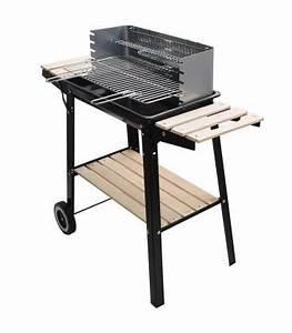 Barbecue Charbon De Bois Pas Cher : barbecue pas cher charbon de bois avec tag res en bois ~ Dailycaller-alerts.com Idées de Décoration