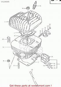 Suzuki Ts125er 1981  X   1 2 4 6 8 9 10 15 16 17 18 E21