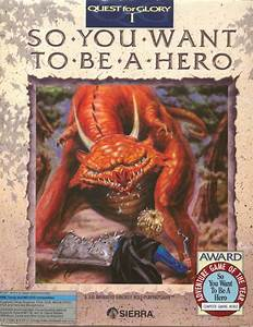 Hero's Quest: So You Want to Be a Hero (1990) Amiga box ...