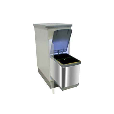poubelle de cuisine inox poubelle bacs 15l inox ilovedetails com