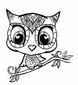Cute Animals Coloring Pages Coloring Home