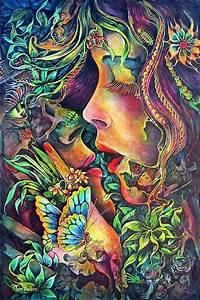 Pin by Madeleine Kennedy on Trippy Hippie Art | Pinterest