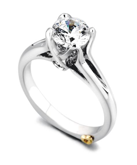 exquisite traditional engagement ring mark schneider design