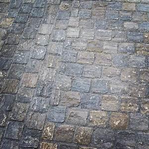 Fugenmörtel Für Pflastersteine : privatgarten mit natursteinpflaster aus muschelkalk ~ Michelbontemps.com Haus und Dekorationen