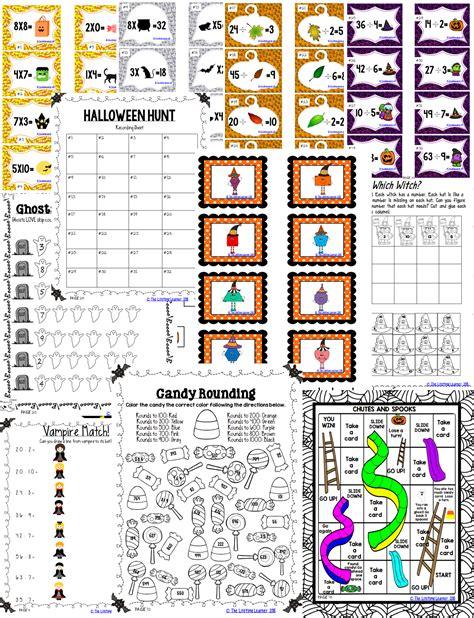 halloween math  grade  images halloween math