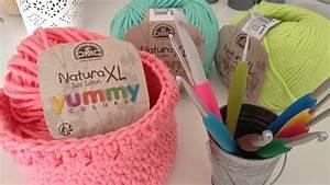 Corbeille Au Crochet : comment r aliser une corbeille au crochet youtube ~ Preciouscoupons.com Idées de Décoration